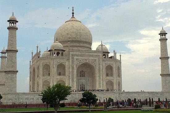 Tour privado del mismo día al Taj Mahal...
