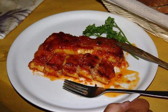 Osteria Antico Boschetto: cannelloni ripieni
