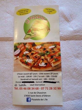 Pizzaiolo de l'Ile