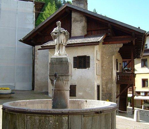 Pieve di Cadore, Italia: dedicata a Giovanni Nepomuceno