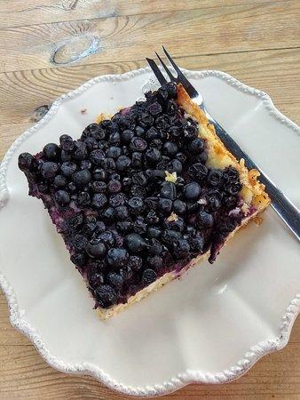 Pizzerie AndEl: Borůvkový koláč