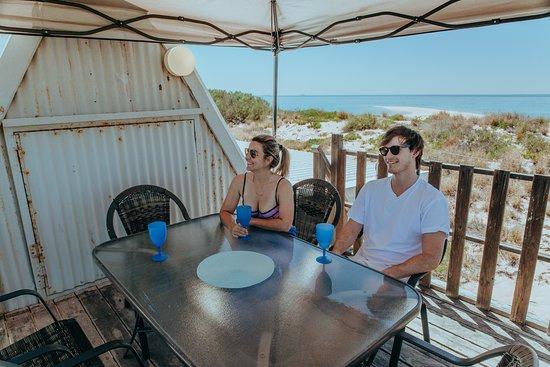 Thevenard Island, Australia: Direction Island Beach Shack, Mackerel Islands