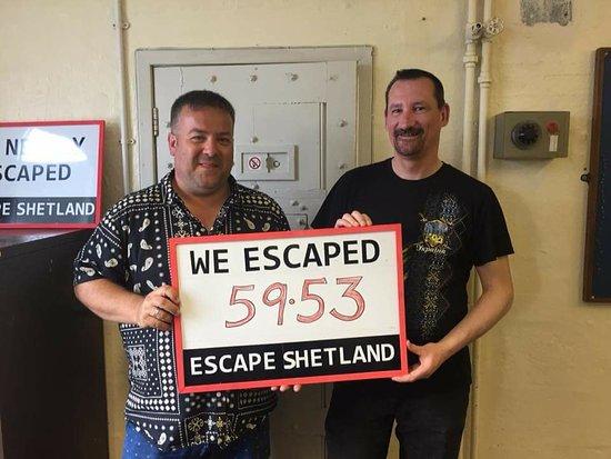 Escape Shetland