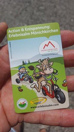 Mönichkirchen, Österreich: Erlebnisalm Monichkirchen