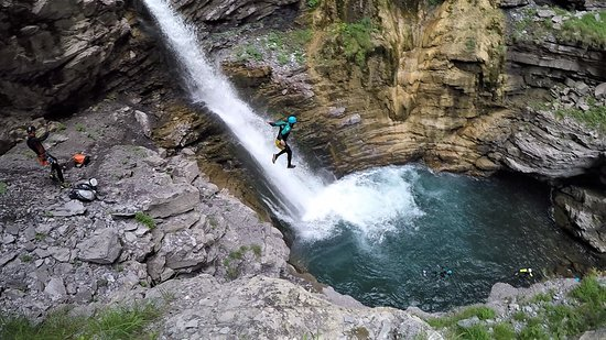 Villars-Colmars, France: sauts cascade de la Lance