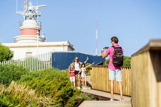 Visitando el Faro de Salou