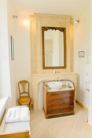 Bretteville-l'Orgueilleuse, France: Agathe bathroom