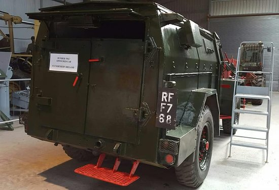 Davidstow Airfield & Cornwall At War Museum: Actual wartime vehicle