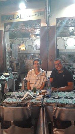 Chez et avec monsieur Laglali. Merci pour l'accueil et les repas.