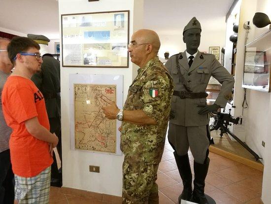 Sala Museale del 3° Reggimento Genio Guastatori: La nostra guida