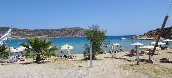 Amoopi, Grecja: ein wahrhaft toller Sandstrand