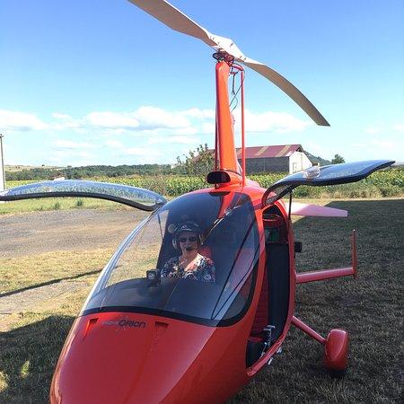 Zdjęcie First Flight in Autogyro in Auvergne