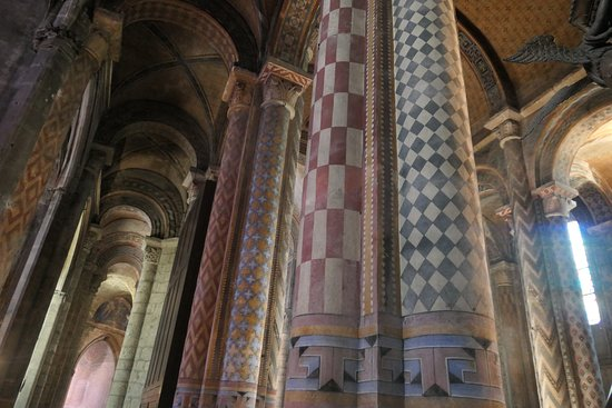 Example Of Painted Interior Photo De Eglise De Notre Dame La Grande Poitiers Tripadvisor