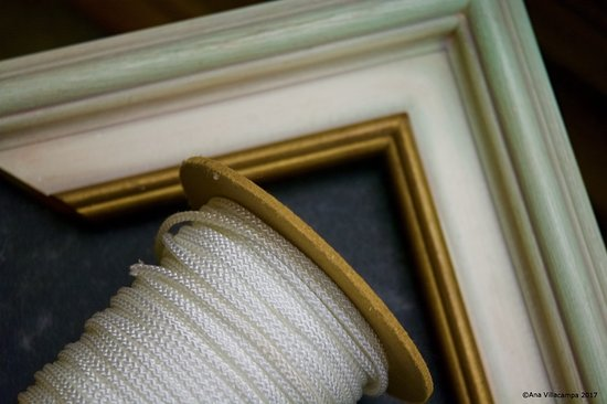 Michelmersh, UK: Picture framing