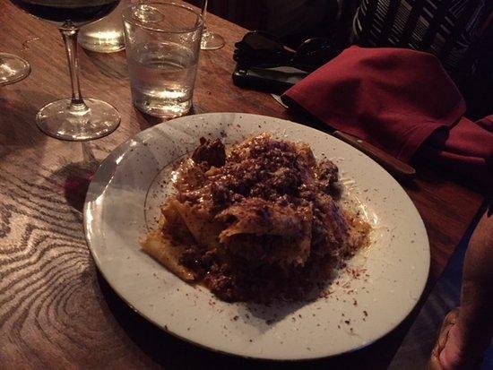 Merchantville, NJ: venison bolognese
