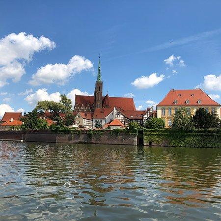 Katamaran- Wrocław Rejsy po Odrze