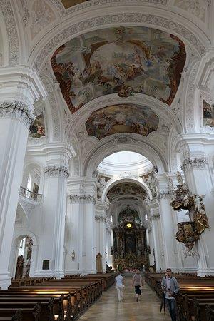 Reichsabtei Weingarten: Basilica dell'Abbazia di Weingarten . interno