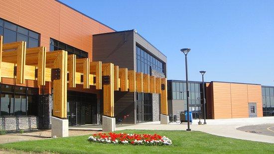 Lac La Biche, Kanada: Exterior view of the Bold Center