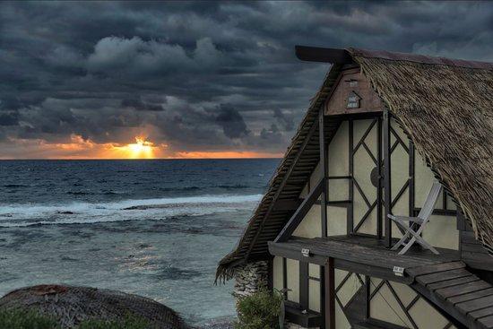 Vahaui Paradis : Le lever du soleil
