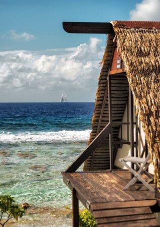 Vahaui Paradis : Passage de bateaux