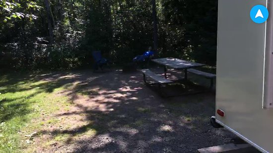 Tettegouche State Park: Campsite 4. Sorry it's such poor quality.