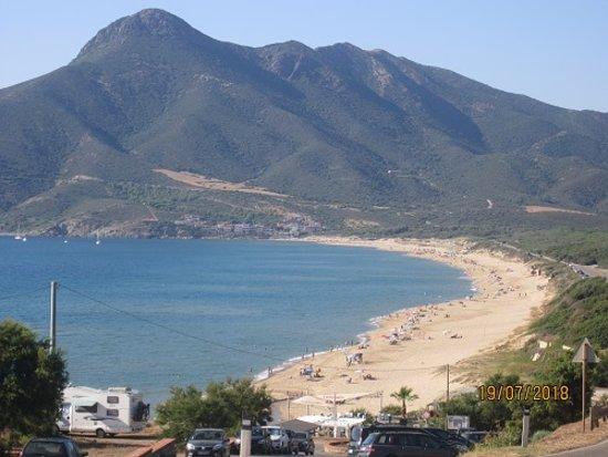 Buggerru, Italie : Spiaggia s.Nicolò