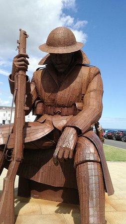 World War One Soldier Sculpture: IMG_20180730_130225_large.jpg