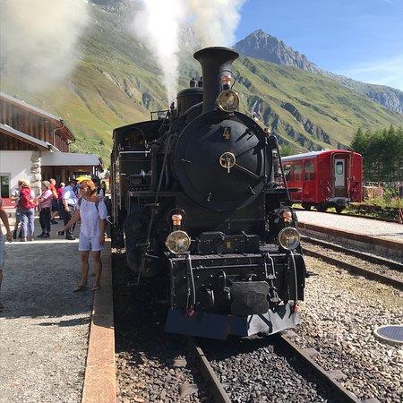 Dampfbahn Furka Bergstrecke: photo0.jpg