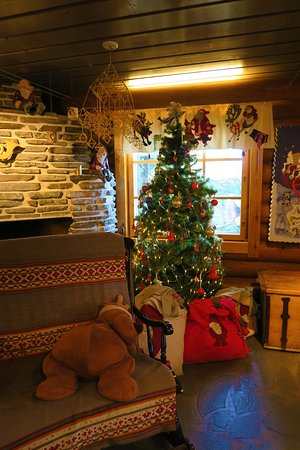 santa claus village post office - Post Office Christmas Eve