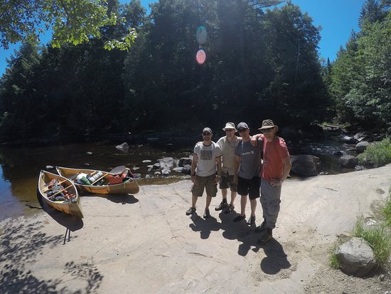 6 days, 4 friends, 2 canoes, great adventure!! - Picture of