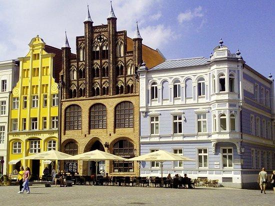 Eines der schönsten Häuser in Stralsund