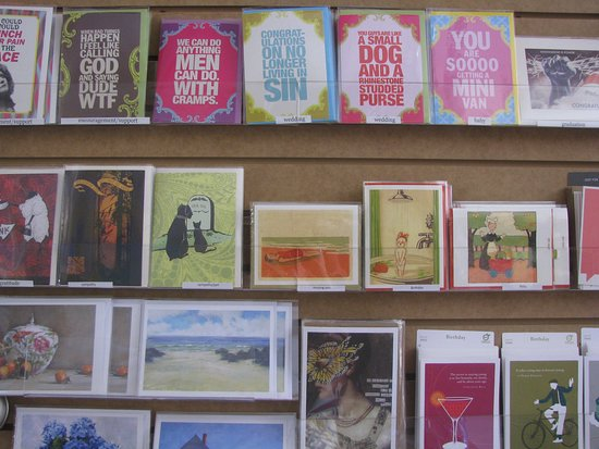 Morph Gallery & Emporium: cards, cards and more cards