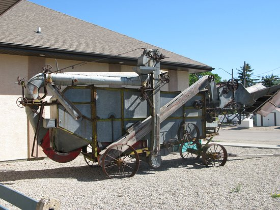 Claresholm, Canada: At the museum