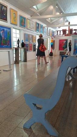 Kuortane, Finland: Inside the gallery