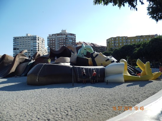 Parque Gulliver: Он огромен.