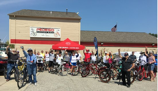 Harrison Township, MI: 2017 5th Annual Michigan POG Bike Ride Group