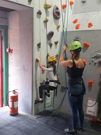 Indy Climbing Wall Foto