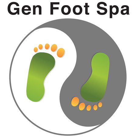 Costa Mesa, Kalifornien: Gen Foot Spa Logo
