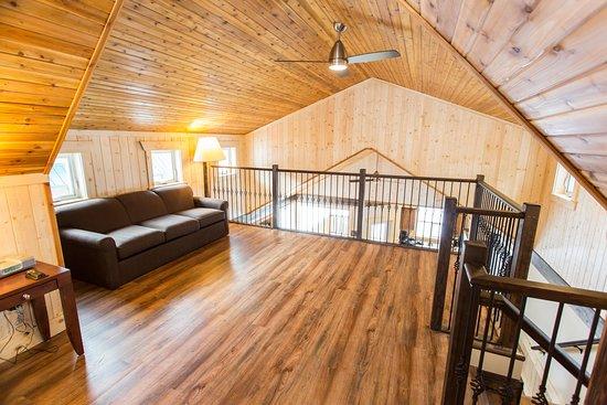 Manning Park Resort: Premium Cabin loft