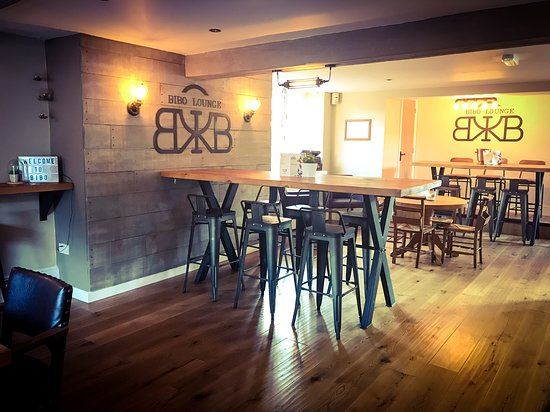 Market Drayton, UK: Bibo Lounge stylish seating area