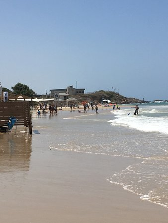Mikhmoret, Israel: lovely beach