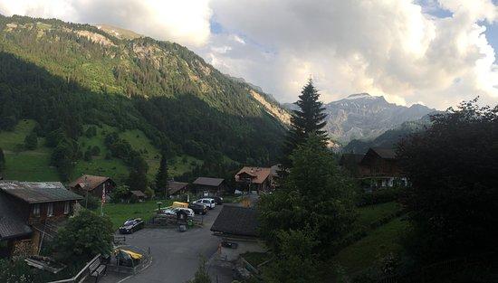 Saxeten, Switzerland: View from Room