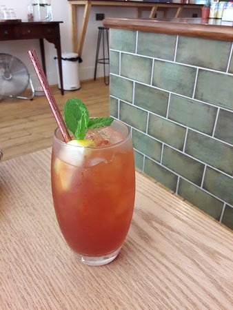 Bean and Cole: Raspberry Iced Tea