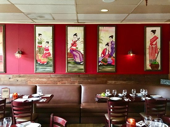 Colorful decor. - Picture of Bangkok Bay Thai Restaurant, Solana ...