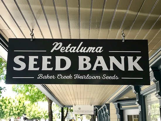 "Baker Creek Heirloom Seed Company's ""Seed Bank"" in the historic downtown Petaluma."