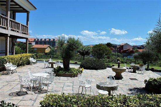 Aparthotel Villa Cabicastro: patio