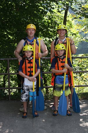 New & Gauley River Adventures: All smiles!