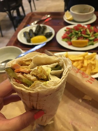 Doner Tortilla - delicious!