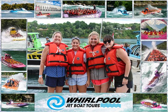 Whirlpool Jet Boat Tours: Dry and excited!
