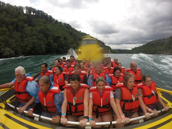 Whirlpool Jet Boat Tours: Not so dry anymore!!